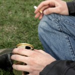 shutterstock_60202486 teenager smoking and drinking alcohol