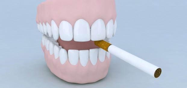 shutterstock_64938745 denture with cigarette