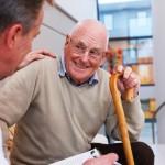 shutterstock_75538075 old man talking to doctor