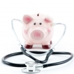 shutterstock_76787638 piggy bank with stethoscope