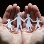 shutterstock_57841969 paper chain family