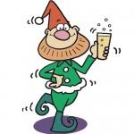 xmas drinkingh elf