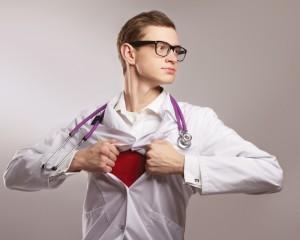 superhero healthcare pratitioner
