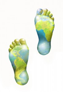 feet showing global coverage on the soles