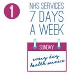 7 days per week NHS