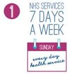 7 days per week NHS