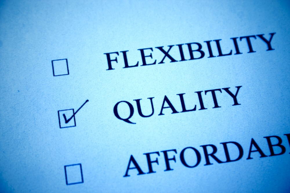 List of priorities with quality checked