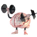Brain exercising with weights