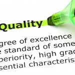 "The word ""Quality"" highlighed"
