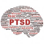 A graphic of PTSD concepts