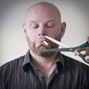 Giving smokers brief advice to help them quit is better than nothing, but only just!