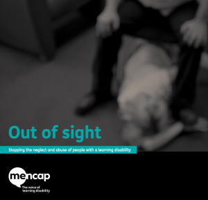 The Mencap Out of Sight report