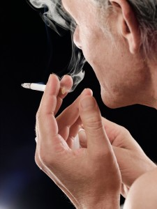 Confounding variables such as smoking were not controlled for in the analysis