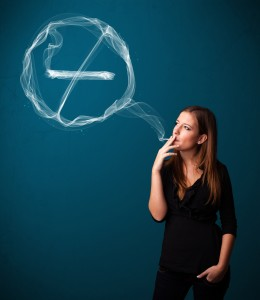 Three out of four people who quit smoking will start again within 1 year