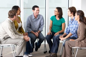 Patients received both individual and group therapy sessions