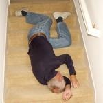 man falling shutterstock