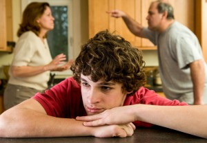 Inter-parental conflict is directly associated with adolescent anxiety and depression.