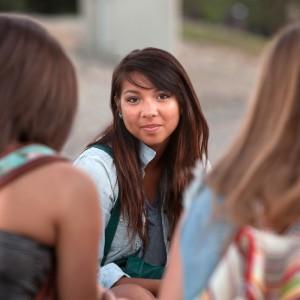 Experience of bullying in childhood increases the risk of psychotic experiences at age 18.