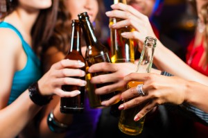 Researchers measured levels of drinking amongst other behaviour
