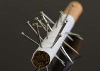 The Cochrane review found no consistent evidence that active acupuncture had any clear benefits on smoking cessation