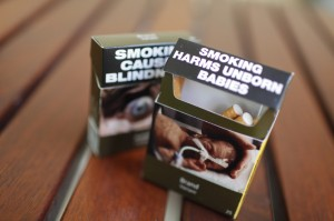 Plain (or 'standardised') packaging would mean standardising the size, shape, colour and method of opening of all tobacco products.