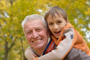 It's not all bad news. Older fathers often bring levels of stability, maturity and security that may be lacking in younger men
