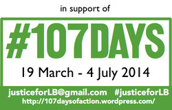 Visit the #107days blog to find out more about this campaign