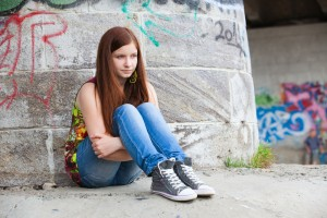 Suicide risk increases noticeably in adolescence and young adulthood
