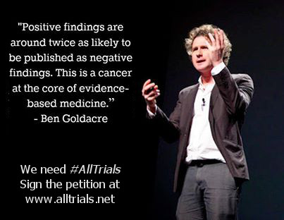 We've said it before and we'll keep saying it until #AllTrials are published - sign up and support the campaign now!