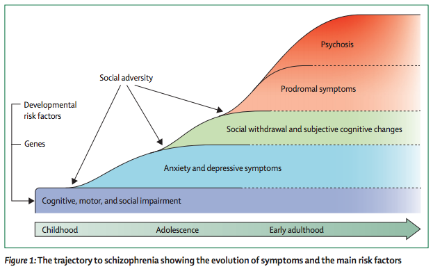 diathesis stress model and schizophrenia According to the diathesis-stress model you need both a vulnerability and a stressor (stressful situation) to develop a mental disorder in the case of schizophrenia, you would need a biological predisposition, as schizophrenia is at least part based in genetics, and a stressful situation, such as a change of surroundings or job, chronic debt or a divorce, to trigger it.