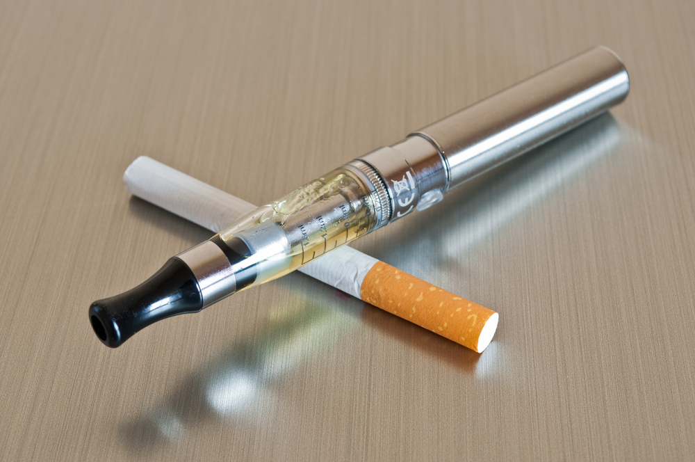 E-Cig use was associated with more rather than less cigarette smoking.