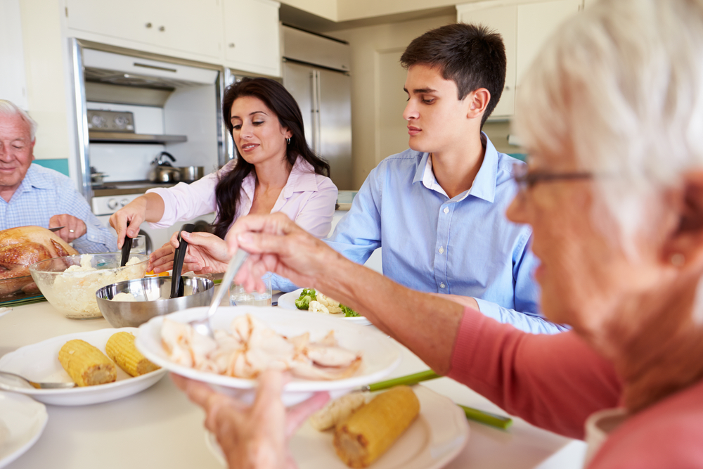 family dinners (ie, family contact and communication) are beneficial to adolescent mental health and may help protect adolescents from the harmful consequences of cyberbullying