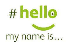 as simple as #hellomynameis