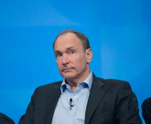 Tim Berners-Lee contemplates the sheer number of kittens on the internet.