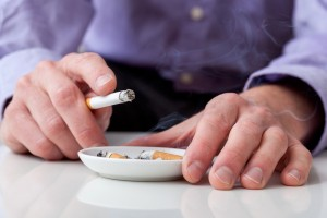 The participants were smokers who were not willing or able to quit smoking within the next month but willing to reduce smoking and make a quit attempt within the next 3 months