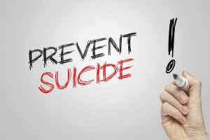 People who have a history of self-harm should be a focus of suicide prevention initiatives.