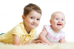The RCT was conducted in children aged 7 to 10 months with an older sibling with ASD