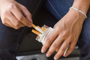 Daily tobacco use is associated with an increased risk of psychosis and an earlier age at onset of psychotic illness.