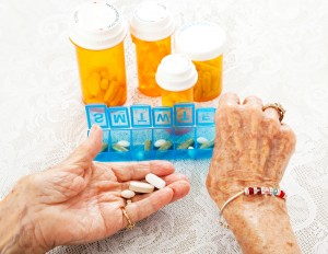 Research shows that antidepressants may be less helpful in older patients.