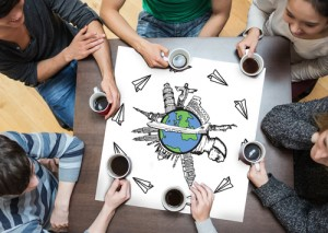 Social work students should connect with peers in other countries to keep a broader focus on skills and values.