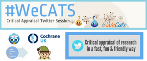 Brush up your research reading skills in our new regular #WeCATS tweet chats.