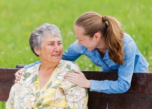The researchers investigated the impact of an older people's co-ordinated community-based service