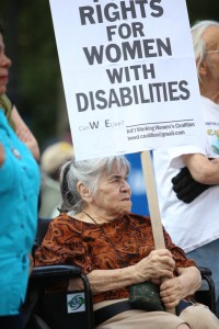 Most of the participants did not see disability in social or political terms.