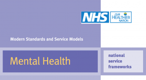 The 1999 National Service Framework set out the blueprint for working with carers of people with mental illness.