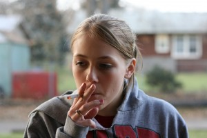 In clinical trials of smoking cessation interventions during pregnancy, only 13% of female smokers are abstinent at term.