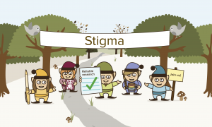 Mental health stigma is a topic we've frequently covered in the woodland