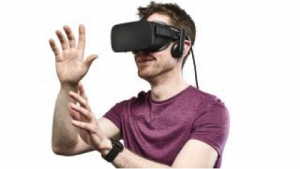 You probably recognize VR as something that looks like this, but with more arm flailing.