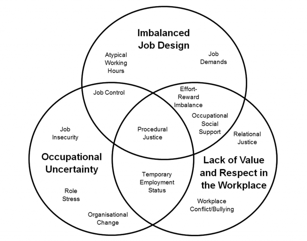 The unifying model of workplace risk factors.