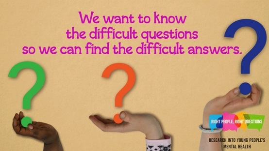 We want to know the difficult questions...