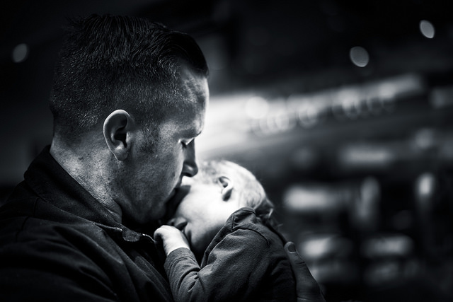Maternal depression is receiving increasing attention, but where is the support for new dads?